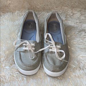 Keds Gray Loafers